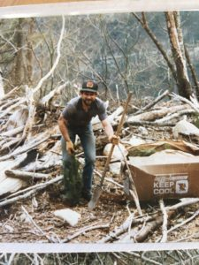 Early Days Tree Planting